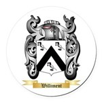 Williment Round Car Magnet