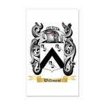 Williment 20x12 Wall Decal
