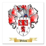 Willies Square Car Magnet 3