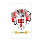 Willies Sticker (Rectangle 10 pk)
