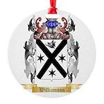 Williamson Scottish Round Ornament