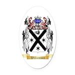 Williamson Scottish Oval Car Magnet