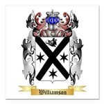 Williamson Scottish Square Car Magnet 3