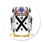Williamson Scottish Round Car Magnet