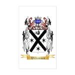 Williamson Scottish Sticker (Rectangle)