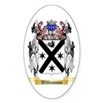 Williamson Scottish Sticker (Oval)