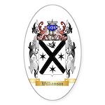 Williamson Scottish Sticker (Oval 10 pk)