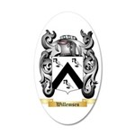 Willemsen 35x21 Oval Wall Decal