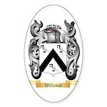Willemot Sticker (Oval 50 pk)