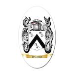 Willemot 20x12 Oval Wall Decal