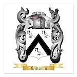 Willemin Square Car Magnet 3