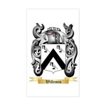 Willemin Sticker (Rectangle)