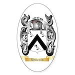 Willemin Sticker (Oval)