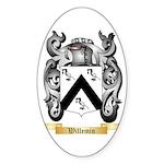 Willemin Sticker (Oval 50 pk)