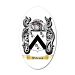 Willemin 35x21 Oval Wall Decal