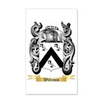 Willemin 35x21 Wall Decal