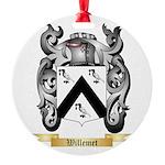 Willemet Round Ornament