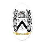 Willemet Oval Car Magnet