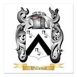Willemet Square Car Magnet 3