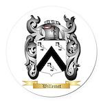 Willemet Round Car Magnet