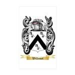 Willemet Sticker (Rectangle 50 pk)