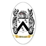 Willemet Sticker (Oval 50 pk)