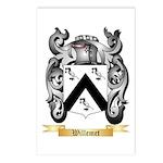 Willemet Postcards (Package of 8)