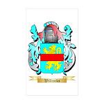 Willcocks Sticker (Rectangle 10 pk)