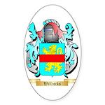 Willcocks Sticker (Oval 10 pk)