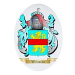 Willcocks Oval Ornament