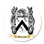 Willaume Round Car Magnet