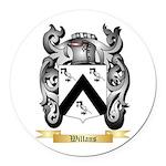 Willans Round Car Magnet