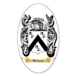 Willans Sticker (Oval 50 pk)
