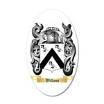 Willans 35x21 Oval Wall Decal