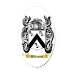 Willament Oval Car Magnet