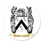 Willament Round Car Magnet