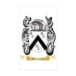 Willament Sticker (Rectangle 50 pk)