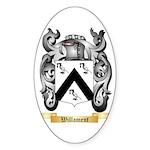 Willament Sticker (Oval 50 pk)