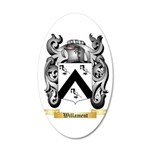 Willament 20x12 Oval Wall Decal