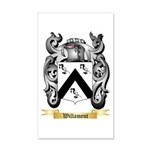 Willament 20x12 Wall Decal