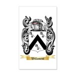 Willament 35x21 Wall Decal