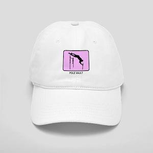 Pole Vault (pink) Cap