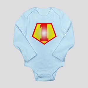 1st Grade Teacher / 1 Long Sleeve Infant Bodysuit
