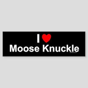 Moose Knuckle Sticker (Bumper)