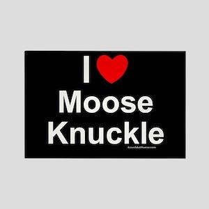 Moose Knuckle Rectangle Magnet