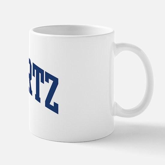 SCHWARTZ design (blue) Mug