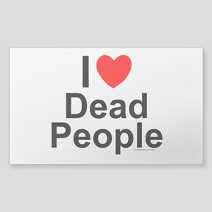 Dead People Sticker (Rectangle)