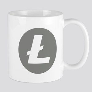 HD Litecoin 2 Official Logo Litecoin Mugs