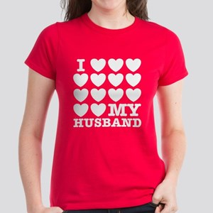 I Love My Husband Women's Dark T-Shirt