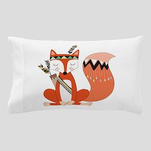 Tribal Red Fox Pillow Case